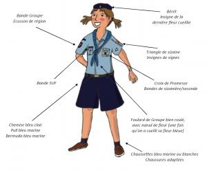 Uniforme Jeannettes